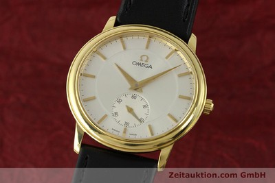 OMEGA DE VILLE 18 CT GOLD MANUAL WINDING KAL. 651 LP: 6710EUR [143054]