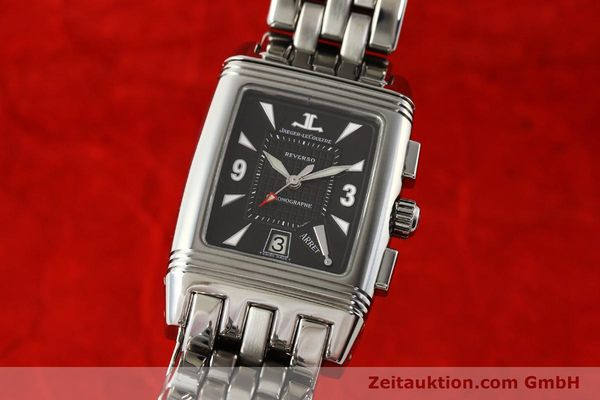 JAEGER LE COULTRE REVERSO CHRONOGRAPH STEEL MANUAL WINDING KAL. 659 [143057]