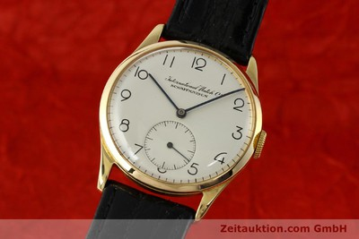 IWC PORTOFINO 18 CT GOLD MANUAL WINDING KAL. 83 [143059]