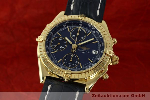 BREITLING CHRONOMAT CHRONOGRAPHE OR 18 CT AUTOMATIQUE KAL. B13 ETA 7750 LP: 23030EUR [143060]