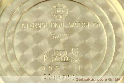 IWC INGENIEUR 18 CT GOLD AUTOMATIC KAL. 3757 [143061]