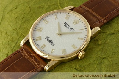 ROLEX CELLINI OR 18 CT REMONTAGE MANUEL KAL. 1602 LP: 5000EUR [143065]