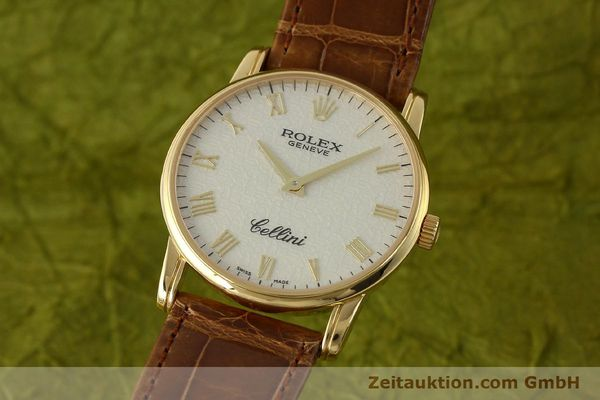 ROLEX CELLINI 18 CT GOLD MANUAL WINDING KAL. 1602 LP: 5000EUR [143065]