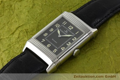 JAEGER LE COULTRE REVERSO STEEL MANUAL WINDING KAL. 822 [143067]