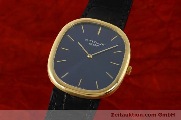 PATEK PHILIPPE ELLIPSE 18 CT GOLD QUARTZ KAL. E27 LP: 19930EUR  [143069]