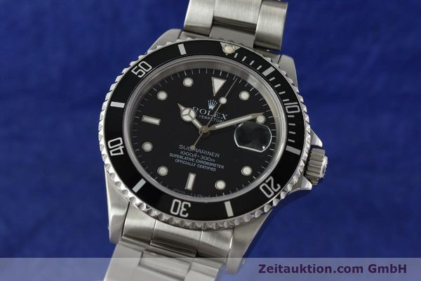 ROLEX SUBMARINER STEEL AUTOMATIC KAL. 3135 LP: 6000EUR [143072]