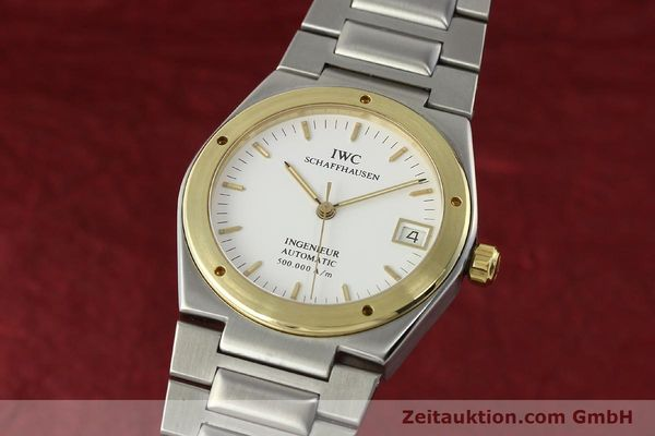 IWC INGENIEUR STEEL / GOLD AUTOMATIC KAL. 37590 LP: 5900EUR [143078]