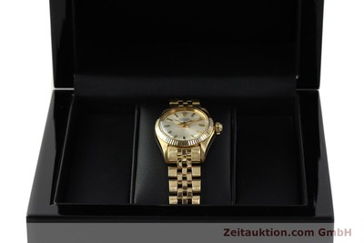 ROLEX OYSTER PERPETUAL OR 18 CT AUTOMATIQUE KAL. 2030 LP: 20600EUR [143081]
