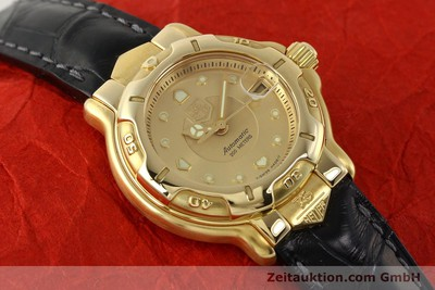 TAG HEUER 6000 GOLD 18 CT GOLD AUTOMATIC KAL. 3.94 ETA 2000 LP: 6900EUR [143082]