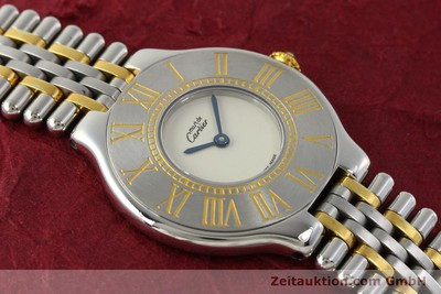 CARTIER LIGNE 21 STEEL / GOLD QUARTZ KAL. 690 [143096]