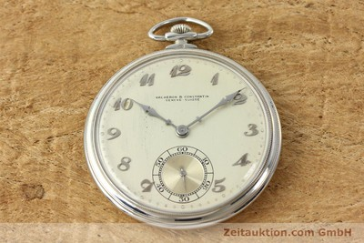 VACHERON & CONSTANTIN TASCHENUHR 18 CT WHITE GOLD MANUAL WINDING [143105]