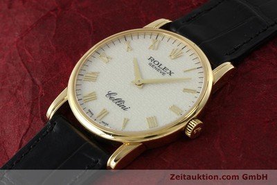ROLEX CELLINI OR 18 CT REMONTAGE MANUEL KAL. 1602 LP: 5000EUR [143107]