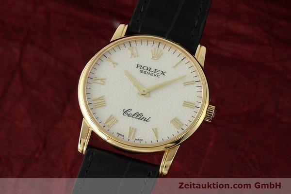 ROLEX CELLINI 18 CT GOLD MANUAL WINDING KAL. 1602 LP: 5000EUR [143107]