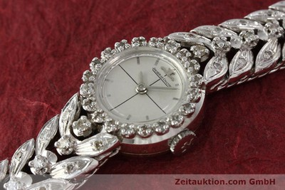 JAEGER LECOULTRE JLC LADY COCKTAIL WATCH DAMENUHR 18K GOLD DIAMANTEN VP:15300,-Euro [143124]
