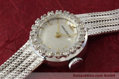 JAEGER LECOULTRE JLC LADY COCKTAIL WATCH DAMENUHR 18K GOLD DIAMANTEN VP:15300,-Euro [143125]