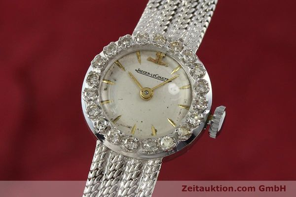 JAEGER LE COULTRE ORO BLANCO DE 18 QUILATES CUERDA MANUAL  [143125]