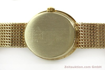 GLASHÜTTE 14 CT YELLOW GOLD QUARTZ KAL. ETA 976.001 LP: 0EUR [143129]