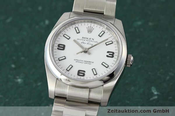 ROLEX OYSTER AIR KING CHRONOMETER AUTOMATIK STAHL 14200 VP: 4300,- EURO [150014]