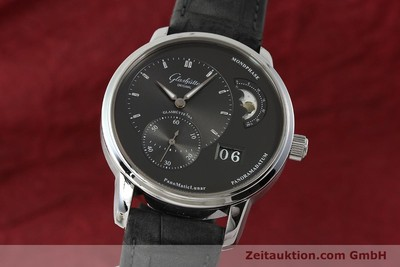 GLASHÜTTE PANOMATICLUNAR STEEL AUTOMATIC KAL. 90 LP: 9400EUR [150015]