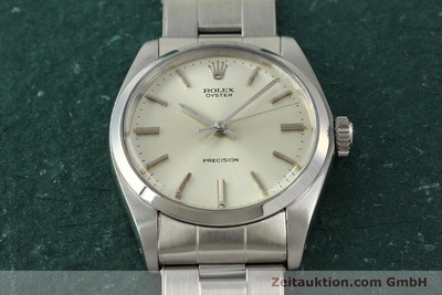 ROLEX PRECISION STEEL MANUAL WINDING KAL. 1225 LP: 4300EUR [150016]