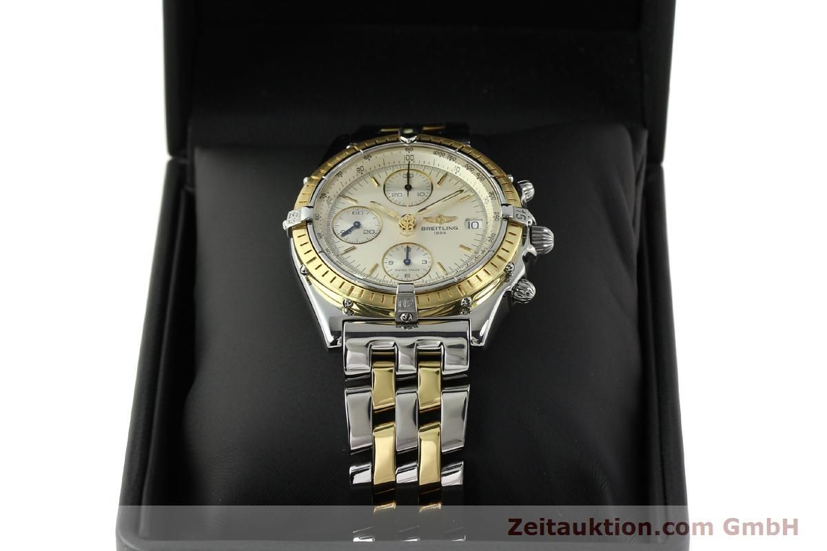 Breitling Chronomat chronograph steel / gold automatic Kal ...
