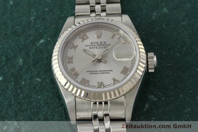 ROLEX LADY DATEJUST ACIER / OR BLANC AUTOMATIQUE KAL. 2135 LP: 6000EUR [150028]