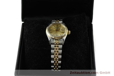 ROLEX LADY DATE ACIER / OR AUTOMATIQUE KAL. 2135 LP: 6950EUR [150033]