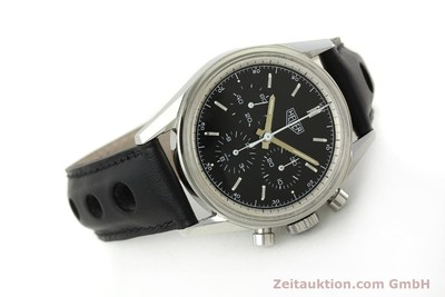 TAG HEUER CARRERA CHRONOGRAPH STEEL MANUAL WINDING KAL. LWO 1873 [150038]