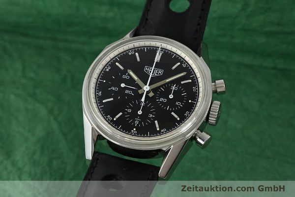 TAG HEUER CARRERA REEDITION CHRONOGRAPH HANDAUFZUG CS3110 VP: 4150,- Euro [150038]