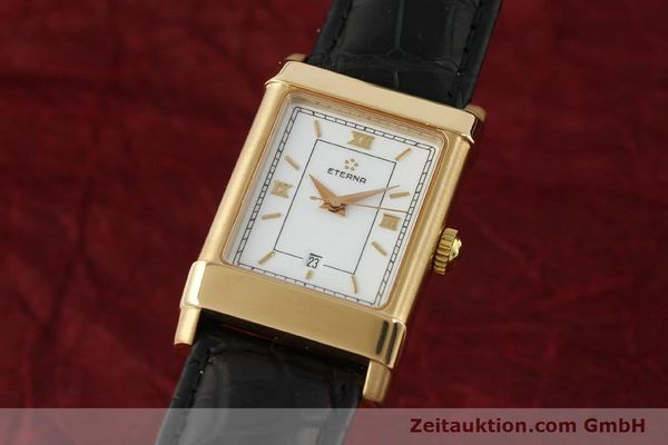 ETERNA 1935 18 CT GOLD AUTOMATIC KAL. ETA 2671 LP: 2750EUR [150051]