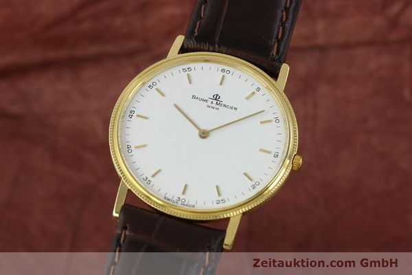 BAUME & MERCIER OR 18 CT QUARTZ KAL. BM9098 ETA 210001 LP: 1700EUR [150090]