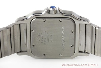 CARTIER SANTOS STEEL / GOLD QUARTZ KAL. 87 LP: 7100EUR [150096]