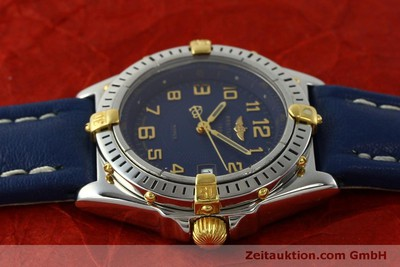 BREITLING WINGS STEEL / GOLD QUARTZ KAL. B67 ETA 956612 LP: 2910EUR [150099]