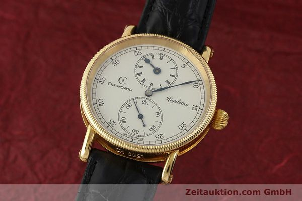 CHRONOSWISS REGULATEUR OR 18 CT REMONTAGE MANUEL KAL. 6676 LP: 12800EUR [150101]