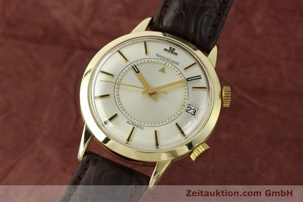 JAEGER LE COULTRE MEMOVOX OR JAUNEN 14 CT AUTOMATIQUE KAL. 825 LP: 8550EUR [150117]