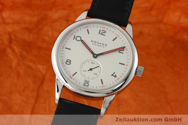 NOMOS CLUB STEEL AUTOMATIC KAL. ZETA 3780 LP: 2440EUR [150120]