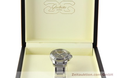 GLASHÜTTE SPORT EVOLUTION CHRONOGRAPH STEEL AUTOMATIC KAL. GUB 39 LP: 7750EUR [150121]