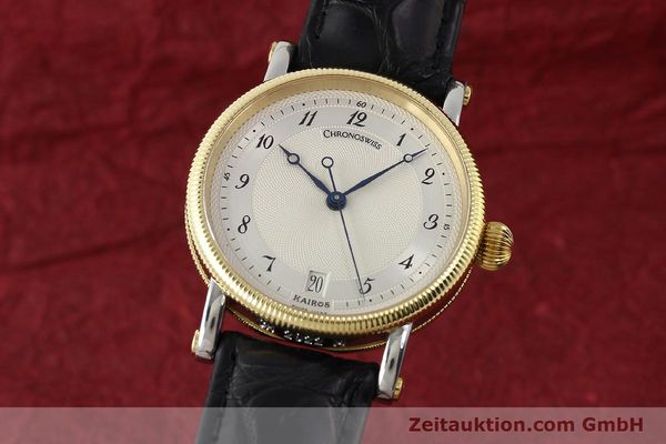 CHRONOSWISS KAIROS STAHL / GOLD HERRENUHR MEDIUM AUTOMATIK CH2822 NP: 4450,- EUR [150141]