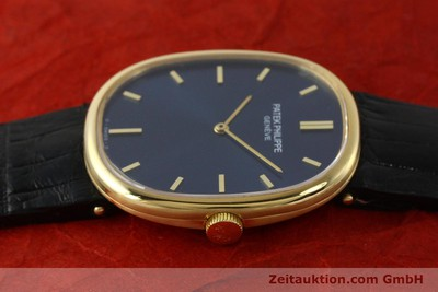 PATEK PHILIPPE 18K (0,750) GOLD ELLIPSE D´OR HANDAUFZUG 3548 MEDIUM VP: 19930,-Euro [150144]
