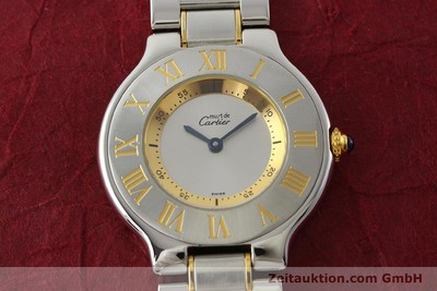 CARTIER LIGNE 21 STEEL / GOLD QUARTZ KAL. 90.06 [150146]