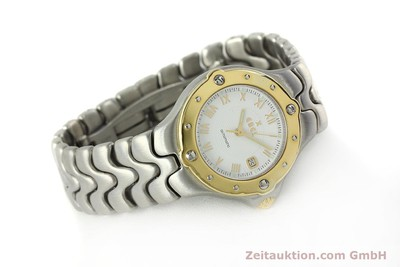 EBEL SPORTWAVE ACIER / OR AUTOMATIQUE KAL. 172 ETA 2671 LP: 2800EUR [150150]
