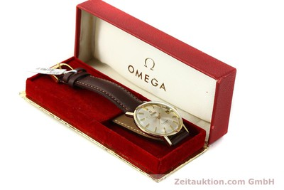 OMEGA SEAMASTER 14 CT YELLOW GOLD AUTOMATIC KAL. 562 VINTAGE [150151]