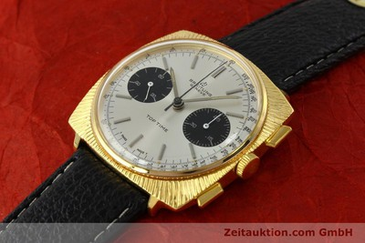 BREITLING TOP TIME CHRONOGRAPH GOLD-PLATED MANUAL WINDING KAL. VALJ. 7730 VINTAGE [150153]