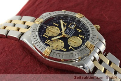 BREITLING EVOLUTION CHRONOGRAPHE ACIER / OR AUTOMATIQUE KAL. B13 ETA 7750 LP: 11380EUR [150158]