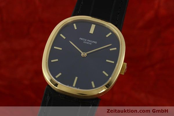 PATEK PHILIPPE 18K GOLD ELLIPSE D´OR HANDAUFZUG 3548 MEDIUM VP: 19930,- EURO [150159]