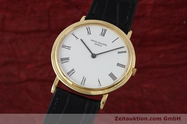 PATEK PHILIPPE CALATRAVA OR 18 CT QUARTZ KAL. E27 LP: 19100EUR [150162]