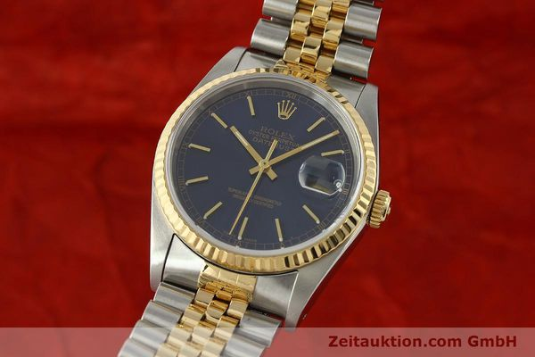 ROLEX DATEJUST STEEL / GOLD AUTOMATIC KAL. 3135 LP: 8800EUR [150166]