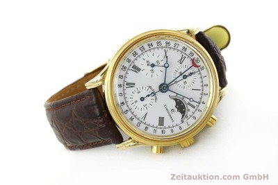 CHRONOSWISS A. ROCHAT CHRONOGRAPH GOLD-PLATED AUTOMATIC KAL. VALJ. 7750 [150172]