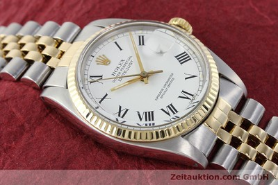ROLEX DATEJUST STEEL / GOLD AUTOMATIC KAL. 3035 LP: 8800EUR [150174]