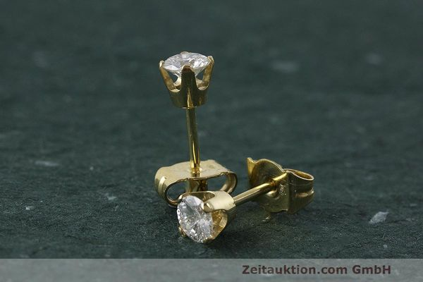 OHRSTECKER 18K (0,750) GOLD DIAMANT BRILLANT 0,48 CT OHRRING DIAMOND [150182]